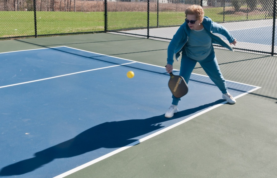 Pickleball for fitness